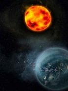 Fototapety KOSMOS planety 7754 mini