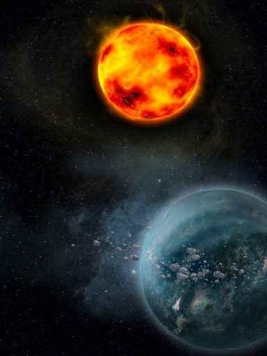 Fototapety KOSMOS planety 7754-big