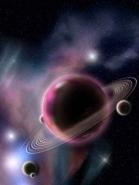 Fototapety KOSMOS planety 7756 mini