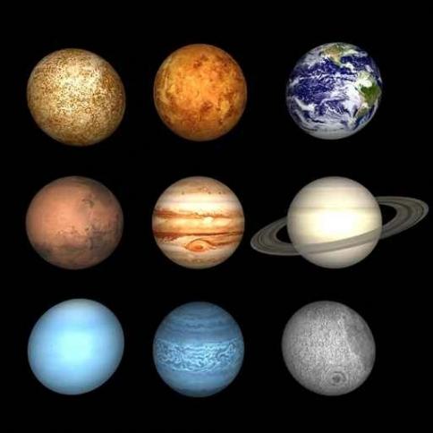 Fototapety KOSMOS planety 7760-big