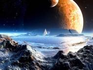 Fototapety KOSMOS planety 7761 mini
