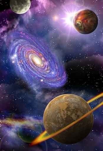 Fototapety KOSMOS planety 7765-big