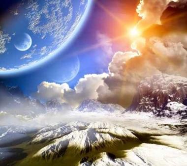 Fototapety KOSMOS planety 7769