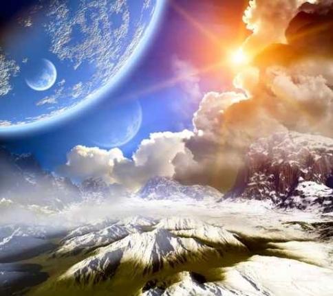 Fototapety KOSMOS planety 7769-big