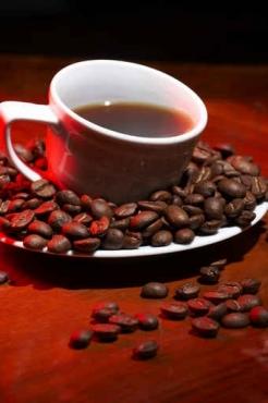 Fototapety DO KUCHNI herbata i kawa time 808