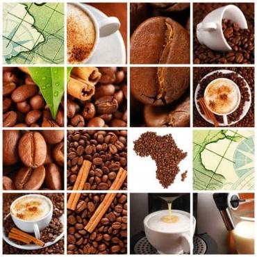 Fototapety DO KUCHNI herbata i kawa time 819