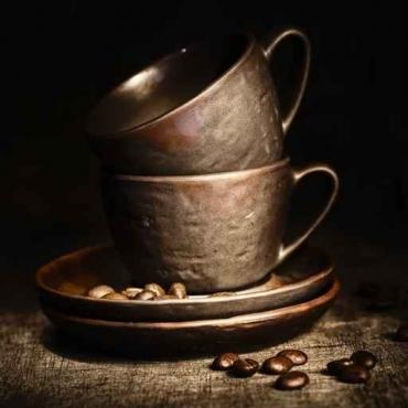 Fototapety DO KUCHNI herbata i kawa time 825