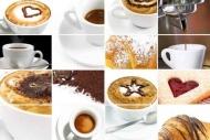 Fototapety DO KUCHNI herbata i kawa time 830 mini