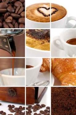 Fototapety DO KUCHNI herbata i kawa time 835