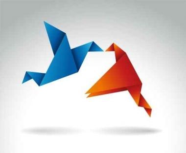 Fototapety INNE origami 8405