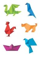 Fototapety INNE origami 8406 mini
