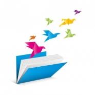 Fototapety INNE origami 8407 mini