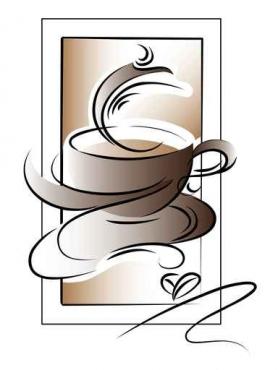 Fototapety DO KUCHNI herbata i kawa time 842