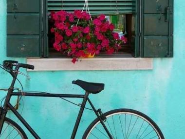 Fototapety ULICZKI rowery 8515