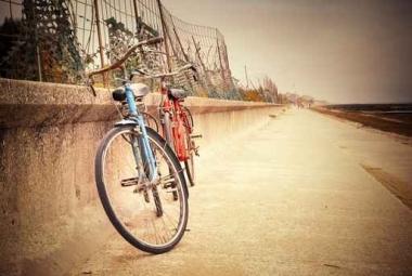 Fototapety ULICZKI rowery 8516