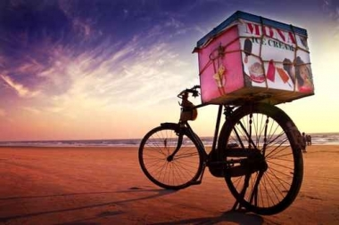 Fototapety ULICZKI rowery 8519