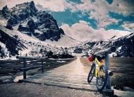 Fototapety ULICZKI rowery 8521 mini