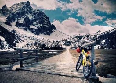 Fototapety ULICZKI rowery 8521