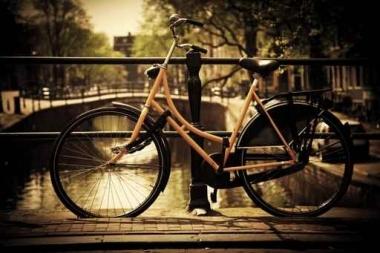 Fototapety ULICZKI rowery 8522