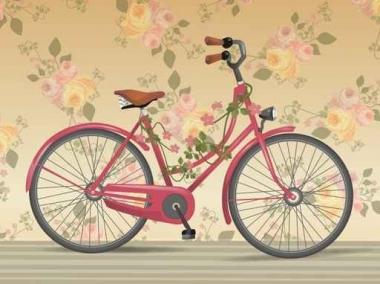 Fototapety ULICZKI rowery 8523