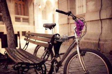 Fototapety ULICZKI rowery 8524