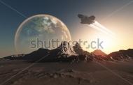 Fototapety KOSMOS planety 8572 mini