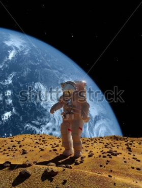 Fototapety KOSMOS planety 8575
