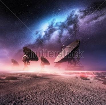 Fototapety KOSMOS planety 8578