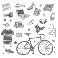 Fototapety HIPSTERS hipsters 8630 mini