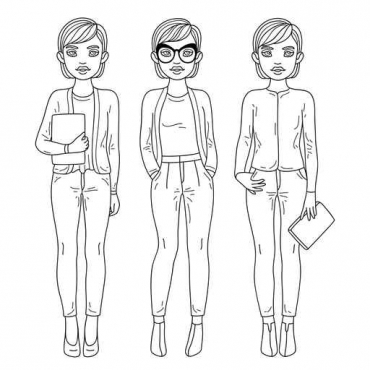 Fototapety HIPSTERS hipsters 8639
