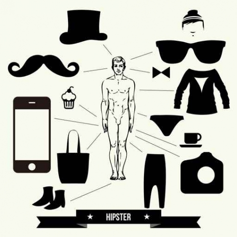Fototapety HIPSTERS hipsters 8640-big