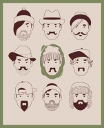 Fototapety HIPSTERS hipsters 8656 mini
