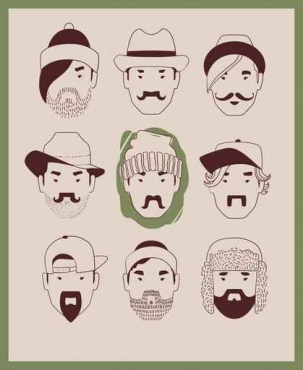 Fototapety HIPSTERS hipsters 8656
