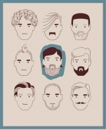 Fototapety HIPSTERS hipsters 8657 mini