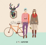 Fototapety HIPSTERS hipsters 8661 mini