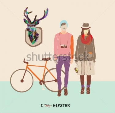 Fototapety HIPSTERS hipsters 8661
