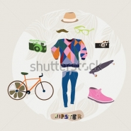 Fototapety HIPSTERS hipsters 8663 mini