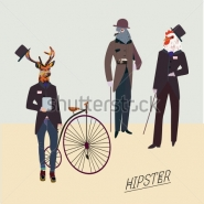 Fototapety HIPSTERS hipsters 8665 mini