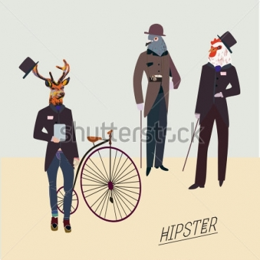 Fototapety HIPSTERS hipsters 8665