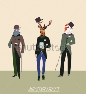 Fototapety HIPSTERS hipsters 8667 mini