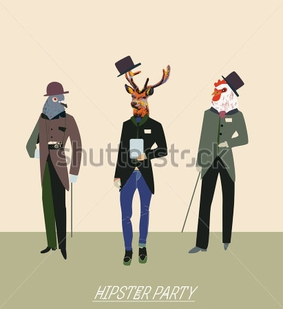 Fototapety HIPSTERS hipsters 8667-big