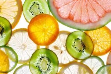 Fototapety DO KUCHNI owocowy koktajl 9446