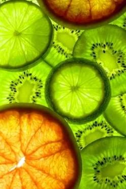 Fototapety DO KUCHNI owocowy koktajl 9454