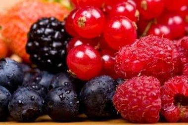 Fototapety DO KUCHNI owocowy koktajl 9459
