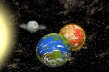 Fototapety KOSMOS planety 9872