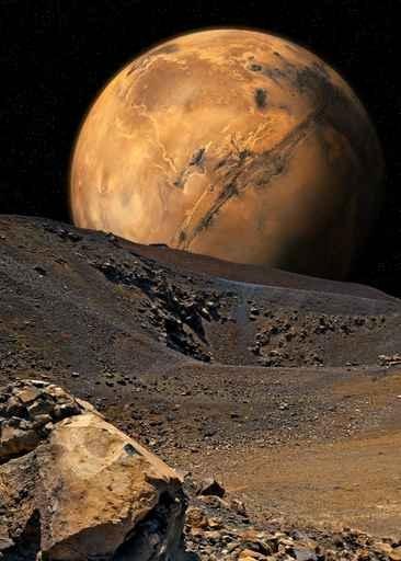 Fototapety KOSMOS planety 9873-big