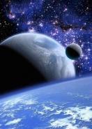 Fototapety KOSMOS planety 9874 mini