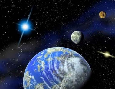 Fototapety KOSMOS planety 9875