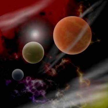 Fototapety KOSMOS planety 9877