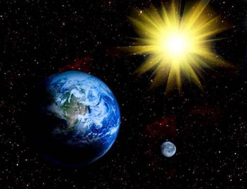 Fototapety KOSMOS planety 9881-big